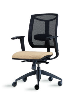 Brio Mid Back Chair with Mesh Back