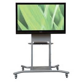 Balt Flat Screen TV Elevation Mobile Stand with Flat Panel Mount