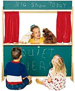 Wood Designs Deluxe Puppet Theatre