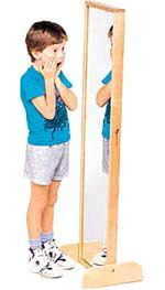 Wood Designs Free Standing Mirror