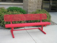 Champion Bench with Backrest