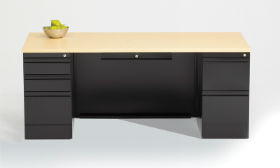 Apex Double Pedestal Desk