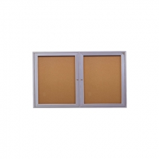Enclosed Cork Bulletin Board, 36