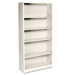 Metal Bookcase, 5 Shelf