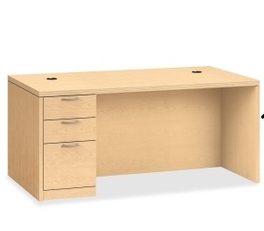 Hon Valido Single Pedestal Desk
