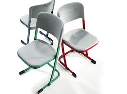 LuPoGlide Skid Chair by VS