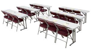 Blow Molded Folding Seminar Table