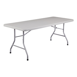 72 in. Lightweight Folding Table