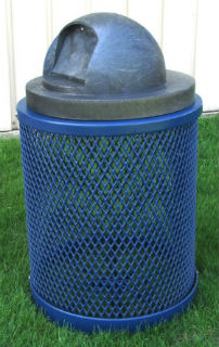 Outdoor Waste Receptacle