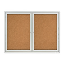 Quartet Enclosed Outdoor Bulletin Board