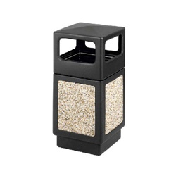 Aggregate Panel Waste Receptacle (9472)