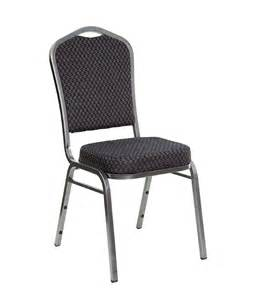 Crown Back Banquet Stack Chair