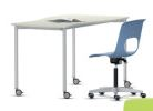 Fusion Fixed Height 4 Leg Table