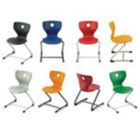 Panto Swing LuPo Forward-flexing cantilever chair by VS