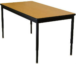 Lobo Adjustable Height Activity Table